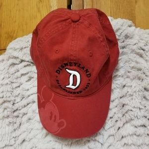 Red Disney Adjustible Ball Cap